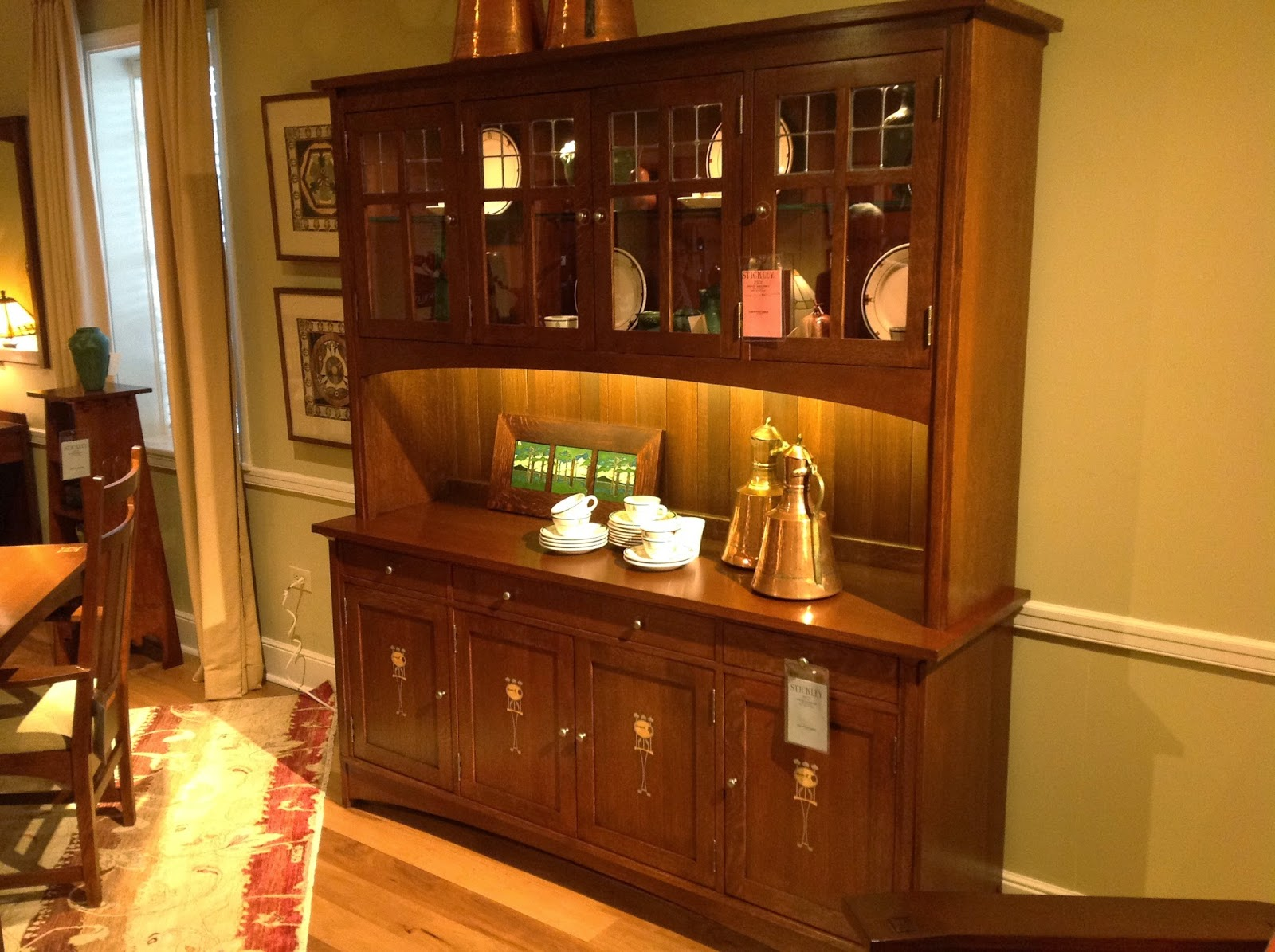 Also From Stickley This New Buffet And Hutch Was An Instant Success