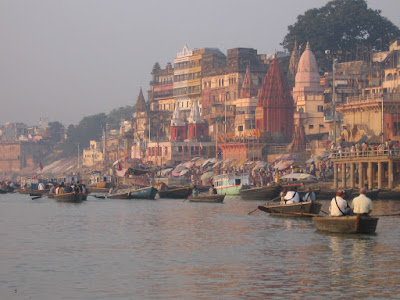 Inspired in India | The city of Varanasi on the Ganga