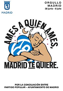 el villano arrinconado, humor, chistes, reir, satira, Ayuntamiento Madrid, PP, Orgullo Gay Madrid 2018