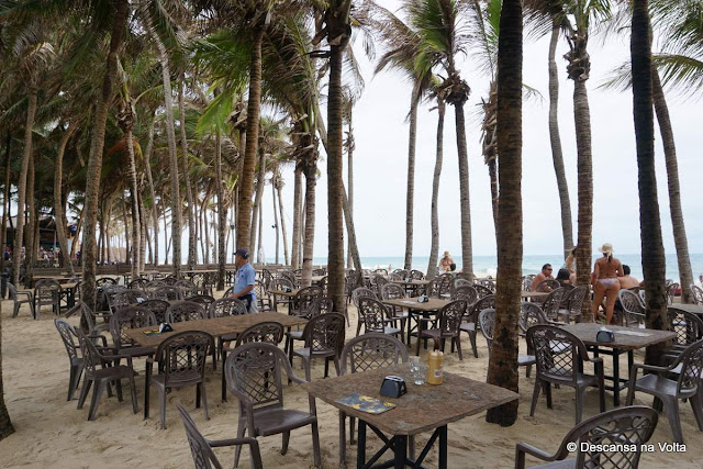 Restaurante beira mar Beach Park