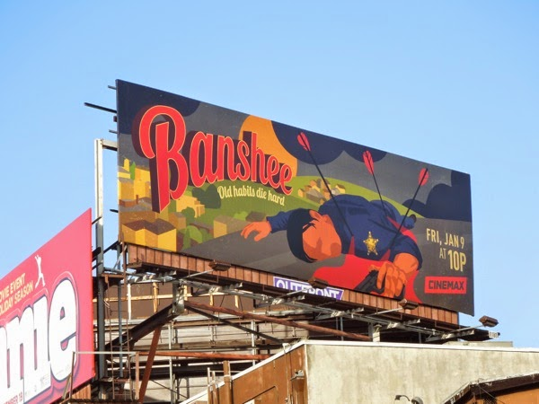 Banshee season 3 Cinemax billboard