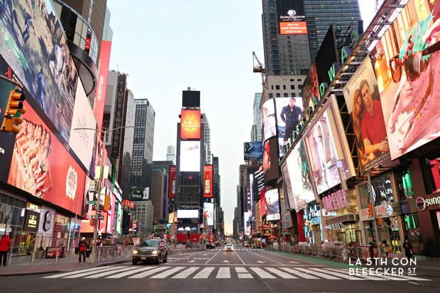 Barrios de Manhattan times square