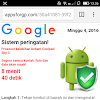 Apakah Peringatan Virus Pada Smartphone Benar Terkena Virus...???