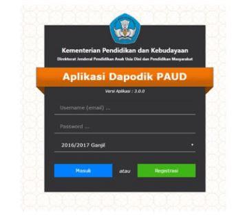 Aplikasi Prefill Dapodik Paud Dikmas Versi Terbaru 3.0.0 Tahun 2016