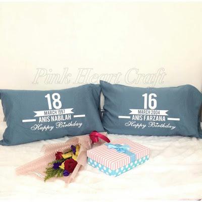 Hadiah birthday, unik, pillowcase