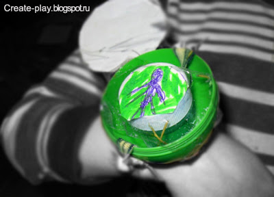 Ben 10 watch with their hands