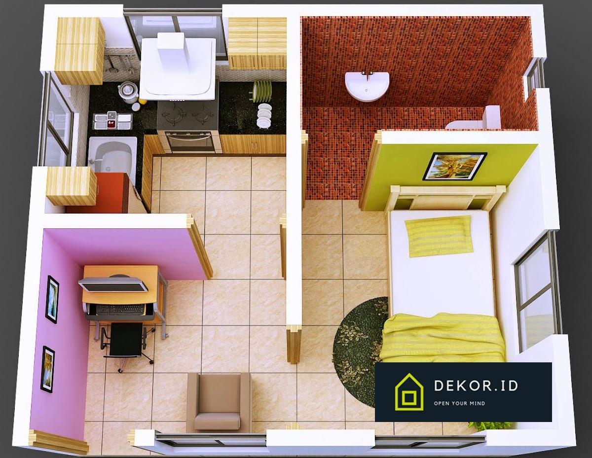 dekorasi rumah minimalis type 21 - dekor.id