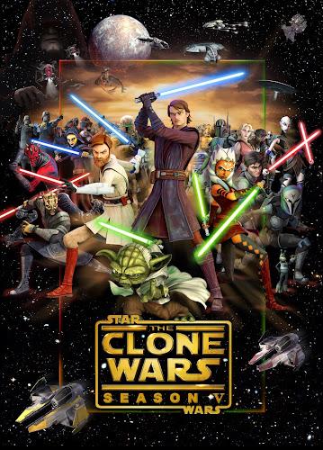 Star Wars La guerra de los clones Temporada 5 Completa Latino