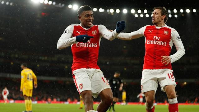 Alex Iwobi set to sign new five year deal with Arsenal