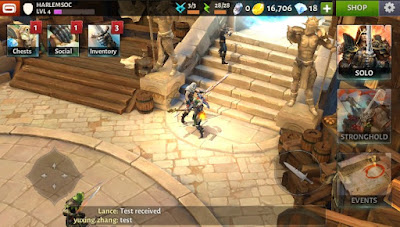 Dungeon Hunter 5 mod apk game
