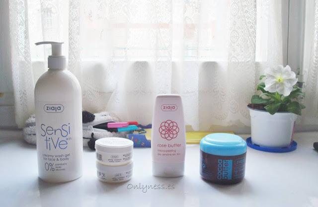 Productos de Ziaja para el cuidado de la piel