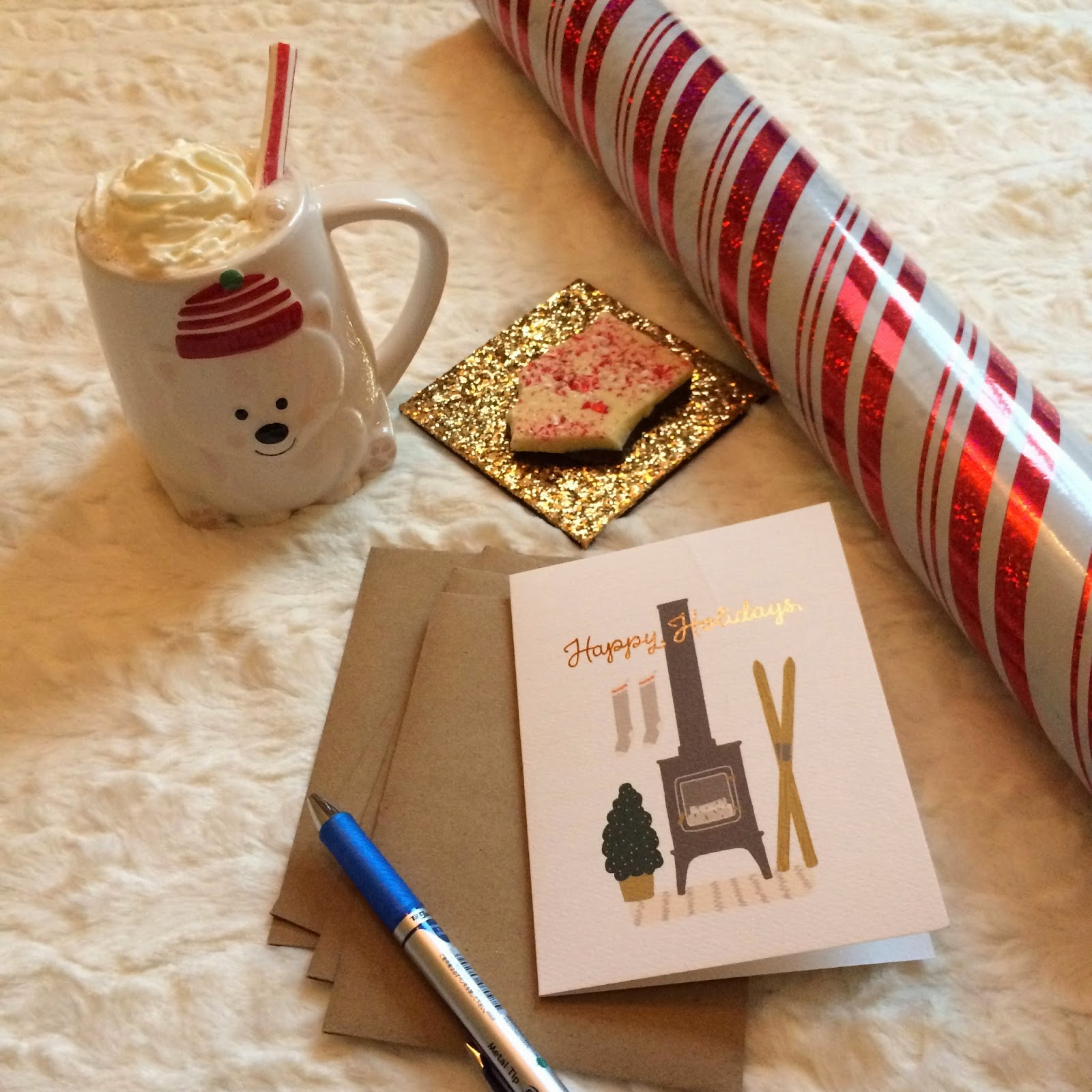 delicious christmas treats and wrapping