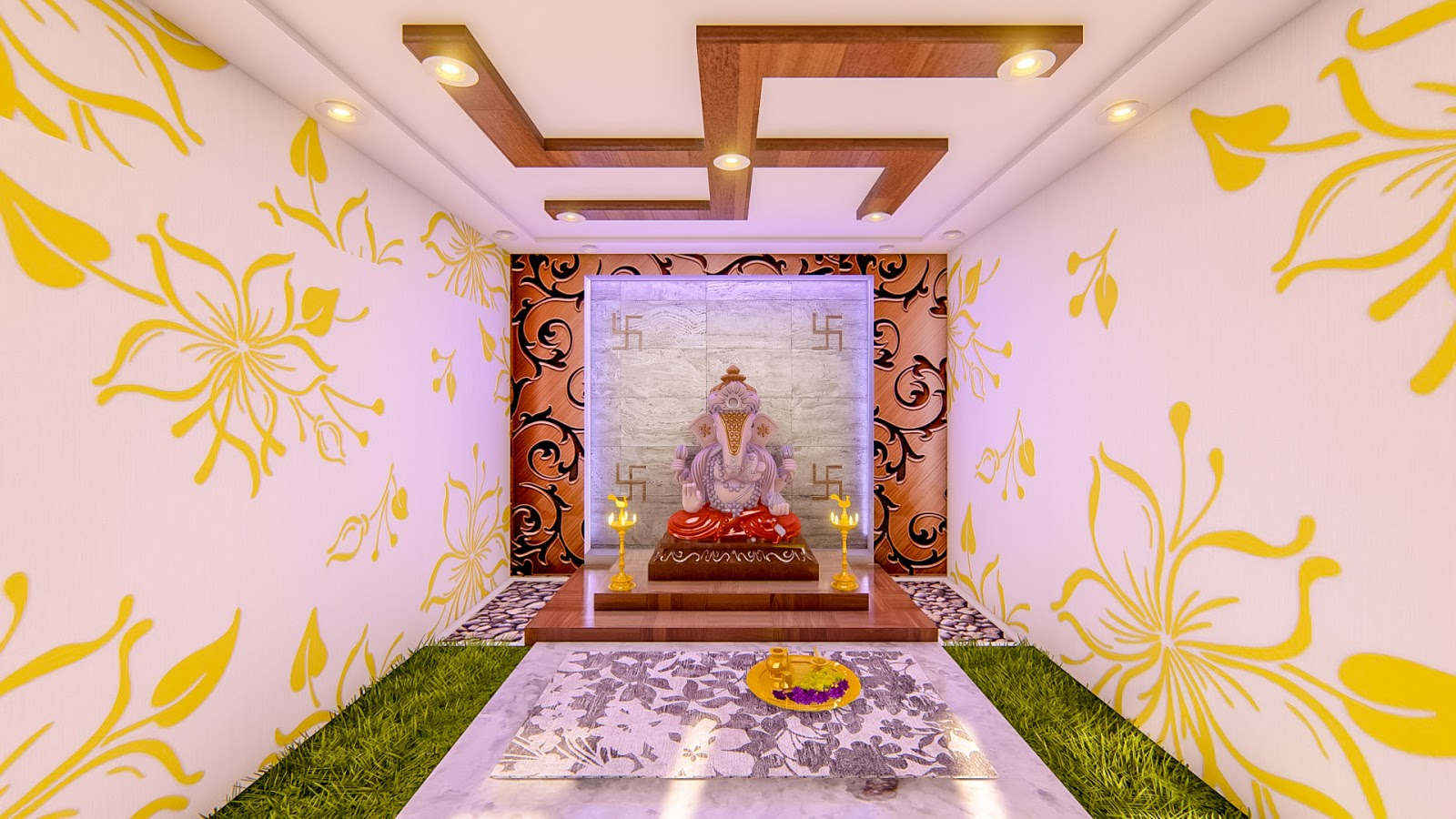 S3 Designs9 Pooja Room Designs