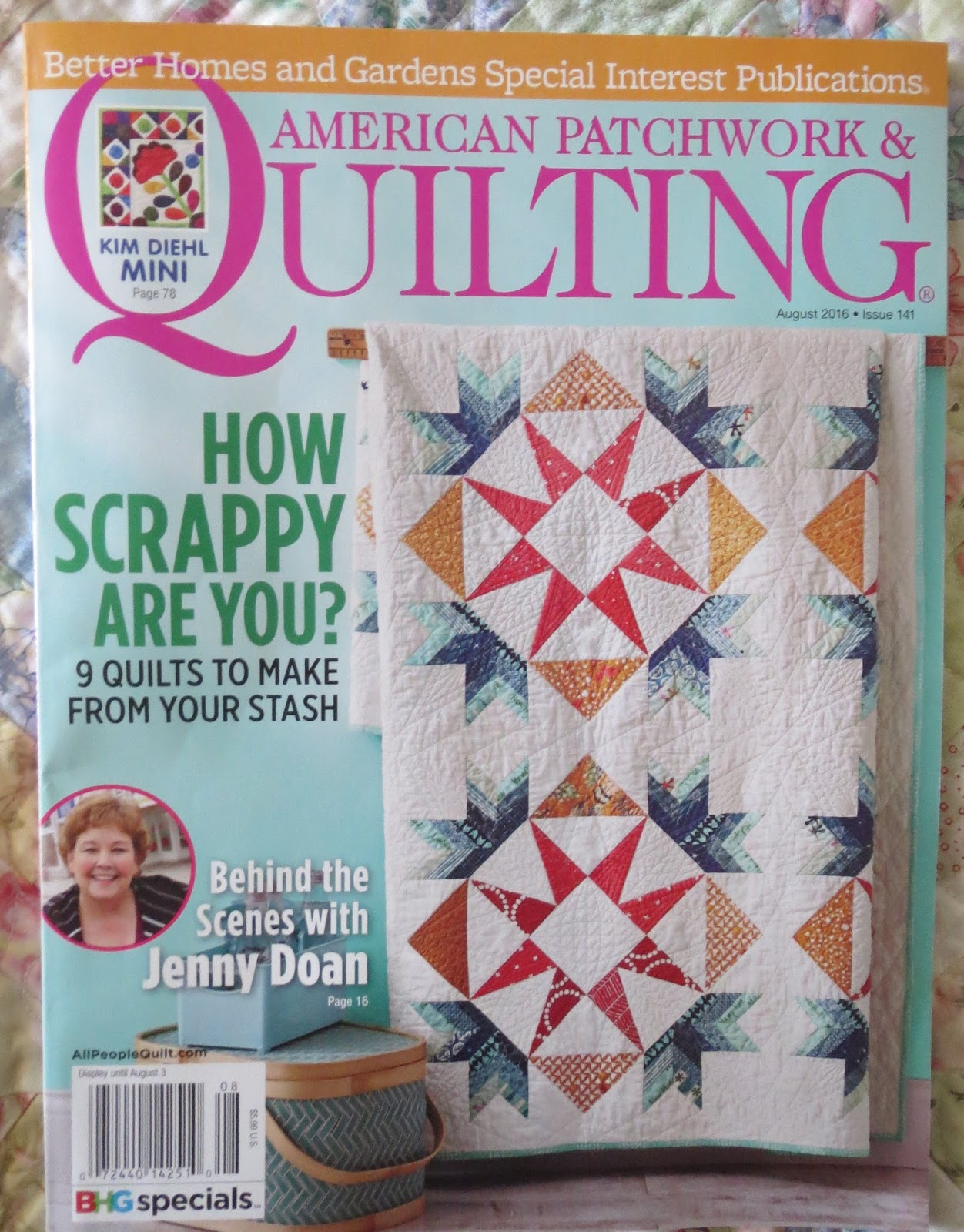 Quilting on Main Street: June 2016 : quilting magazines online - Adamdwight.com