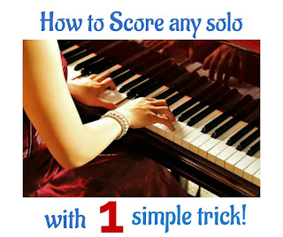 How to score music solo