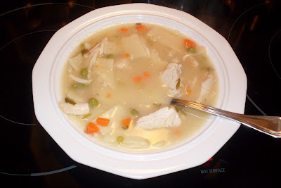 Old Fashion Turkey and Noodles, soup or entree