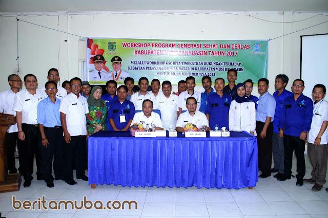 Plt Sekda Buka Workshop Generasi Sehat dan Cerdas