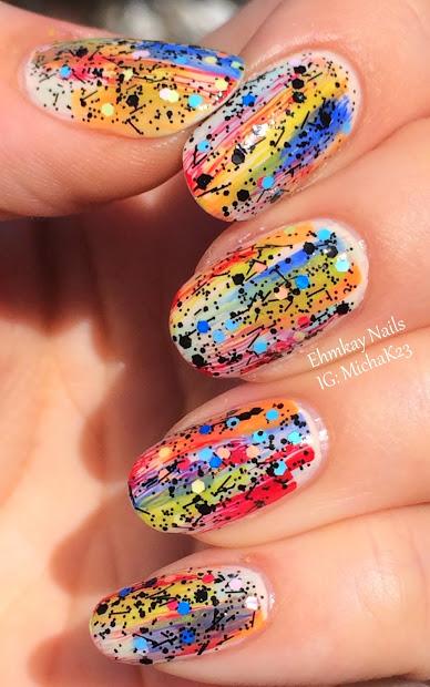 ehmkay nails opi graffiti nail