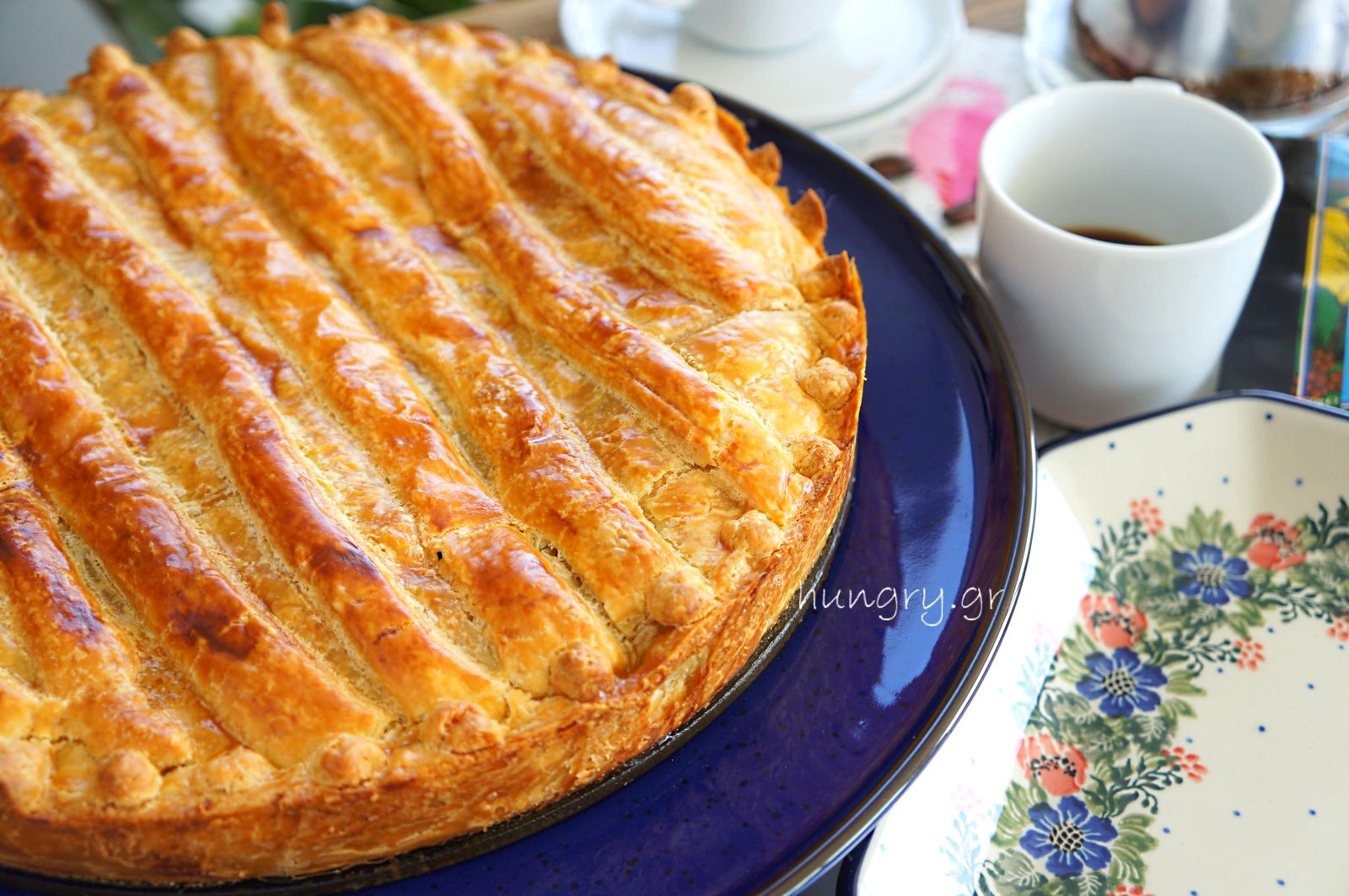 Apple Pie with Caramelized Apples