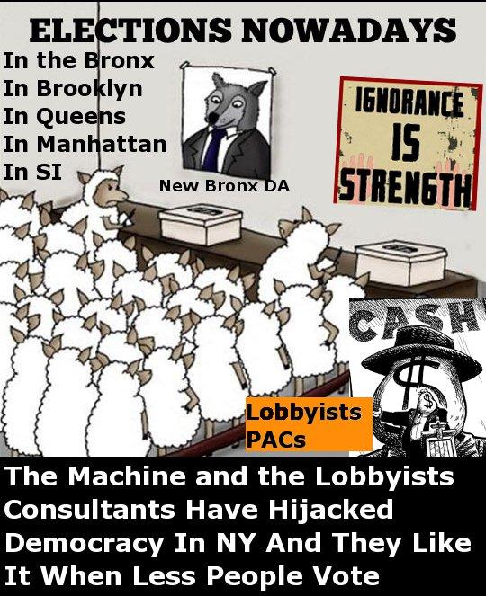 True News (The Bund): The Bronx DA, The BP and Corruption