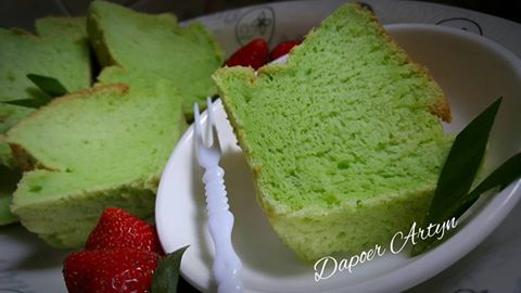 Resep Pandan Chiffon Cake Yang Enak dan Lembut