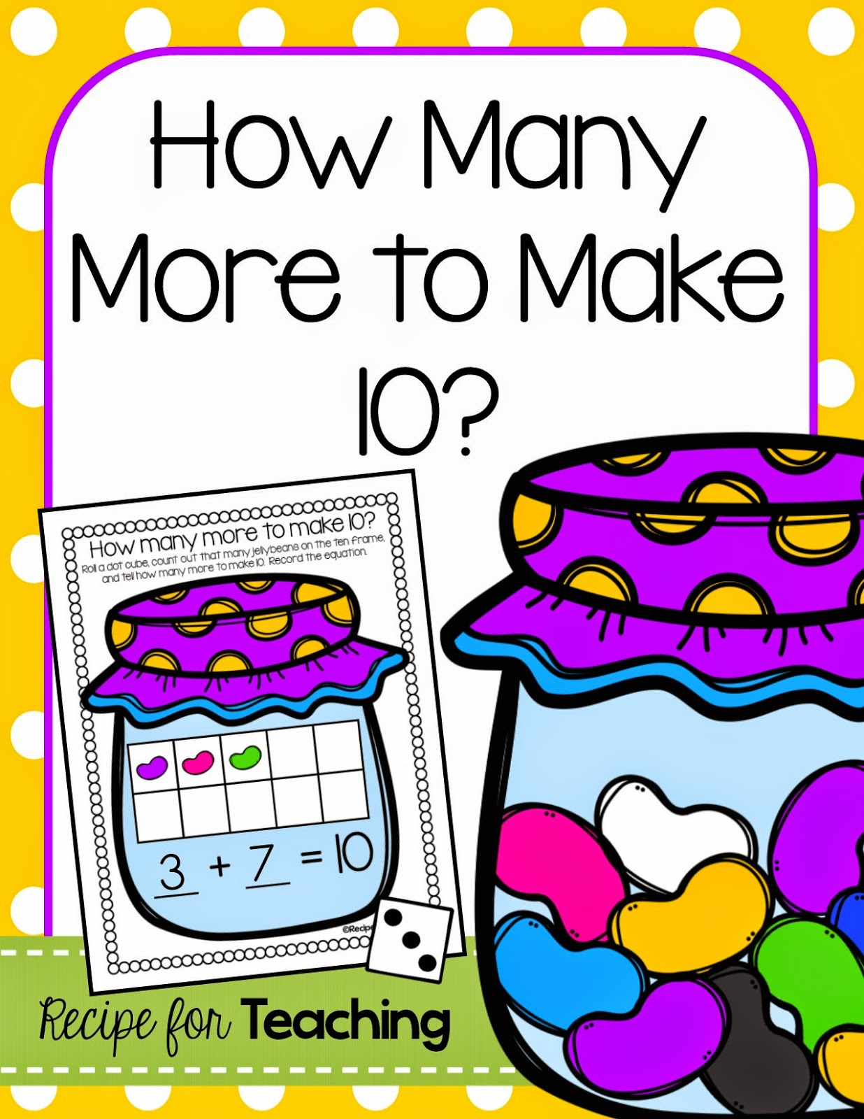 https://www.teacherspayteachers.com/Product/Jellybean-Math-1787387