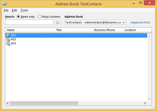 Technical Deep Dive: Contacts not appearing in Global Address List
