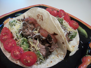 Featured Recipe // Crockpot Barbacoa Beef from Cook with Sara #recipe #tacos #beef #crockpot #SecretRecipeClub #maindish