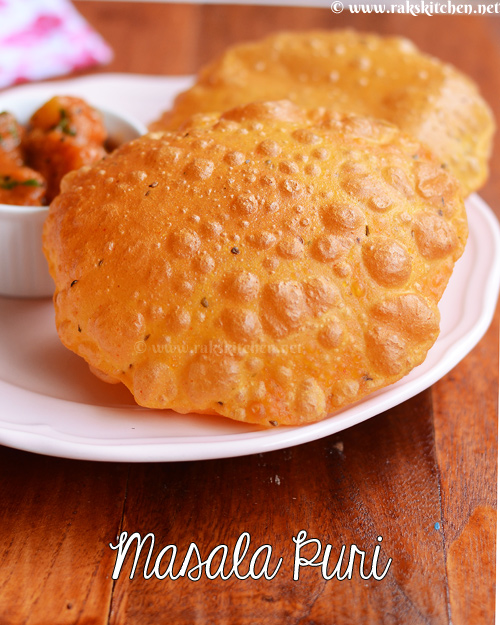 how to make poori without absorbing oil