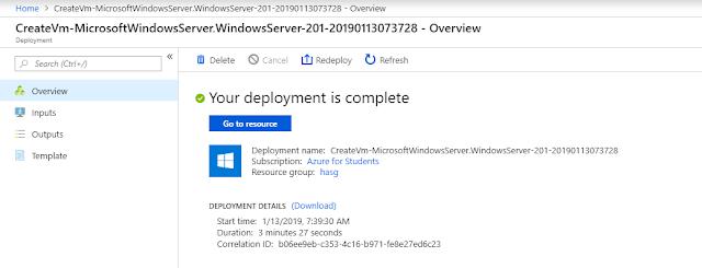 Cara Membuat Server Windows 2016 (VPS)/(RDP) Di Azure Gratis 2019