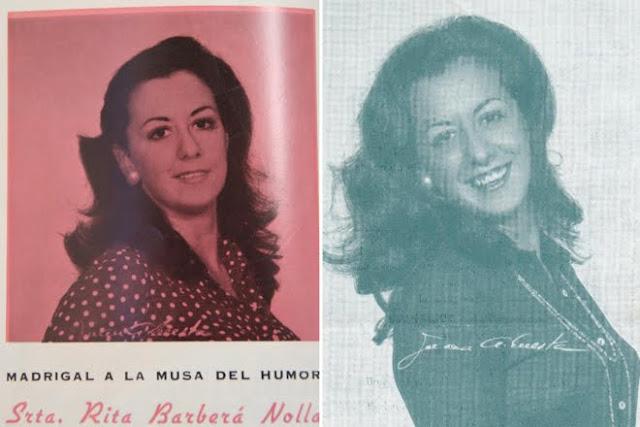 María Rita Barberá Nolla.