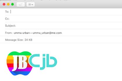 Cara Membuat Logo Untuk Signature Email di Mac OS X