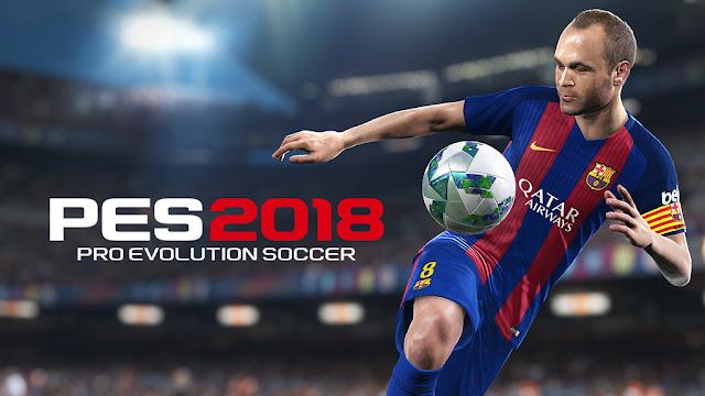 PES 2018 Menggunakan Port Console Next-Gen