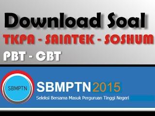 semoga kalian selalu dalam keadaan baik Download lengkap soal SBMPTN tahun 2015