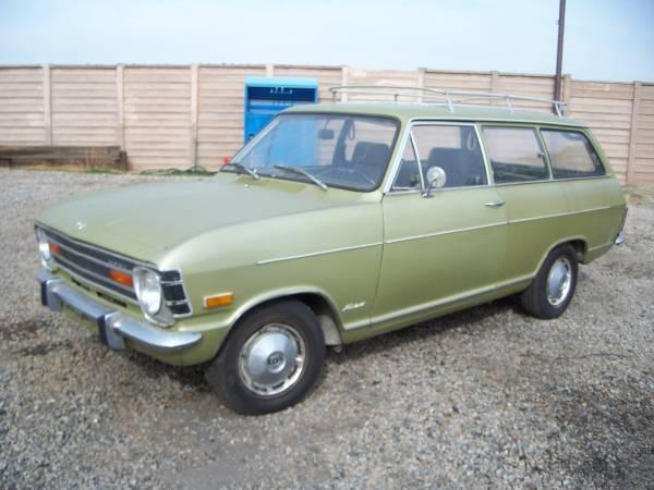 Rare 1970 Opel Kadett Wagon