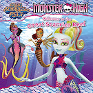 Monster High Welcome to the Great Scarrier Reef Book Item