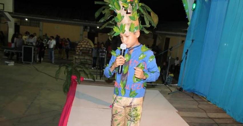 Redes educativas se preparan para etapa red de los Juegos florales en la UGEL Lamas