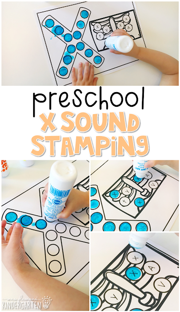 This x-ray sound stamping is perfect for letter, sound, and fine motor practice with a human body theme. Great for tot school, preschool, or even kindergarten!