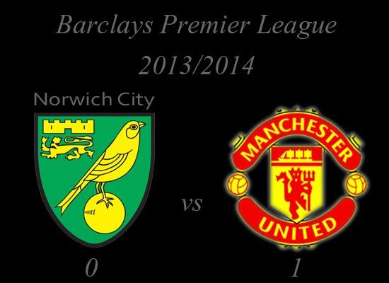 Manchester United Results Norwich City 0 Vs 1