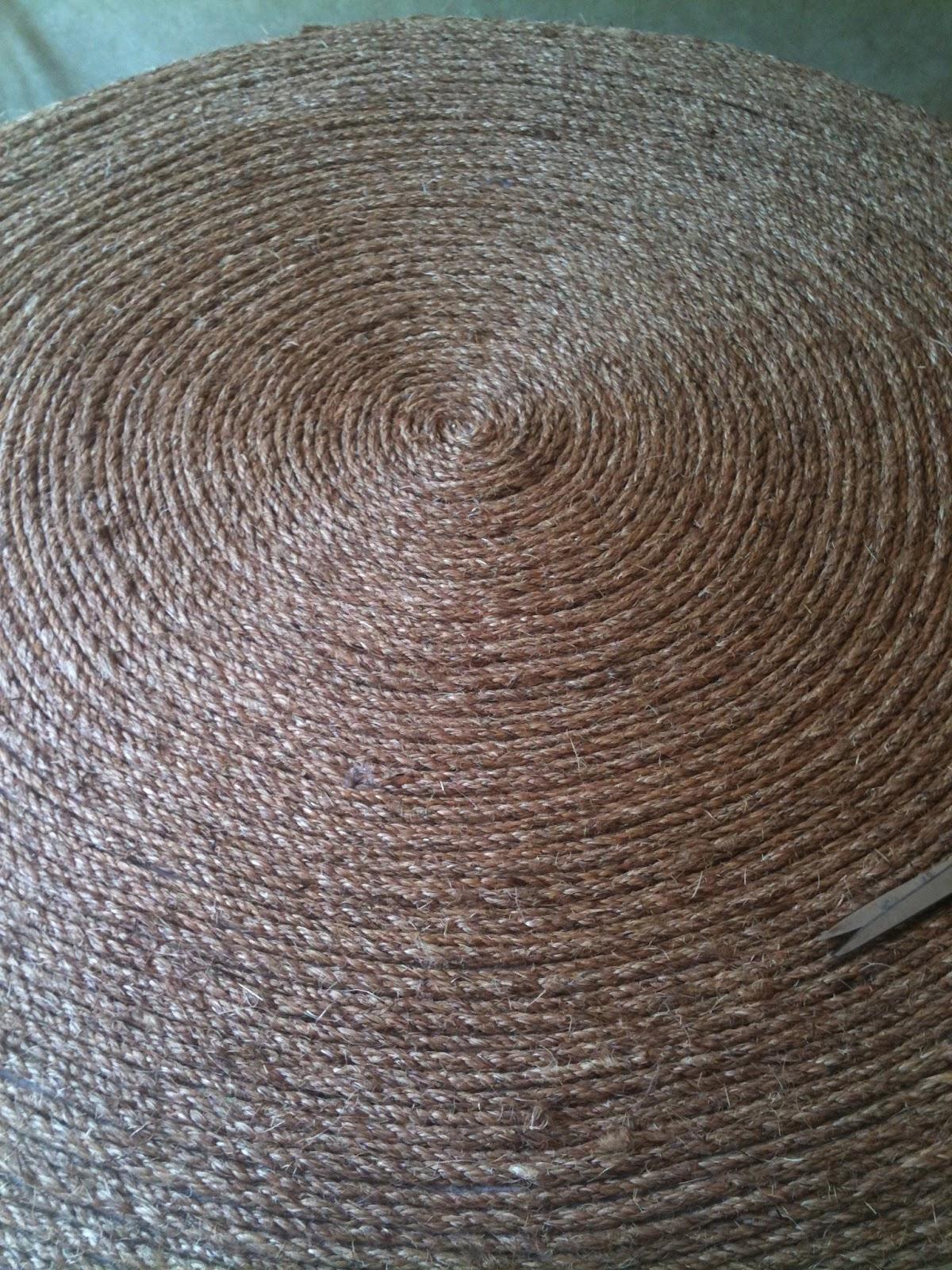 How To Make A Round Rug Les Fleurs