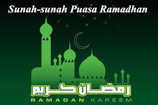 Sunah-Sunah Puasa Ramadhan