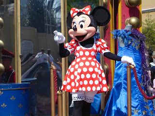 Minnie en eurodisney