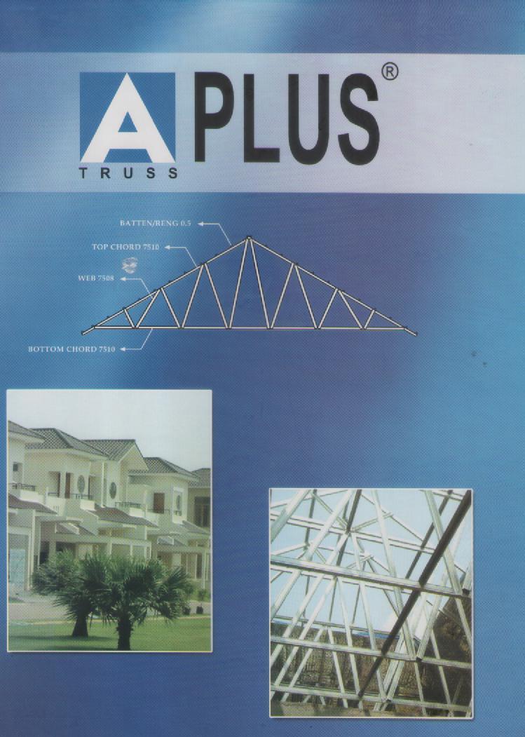 biaya baja ringan dan genteng supplier material bangunan: aplus rangka atap (truss ...
