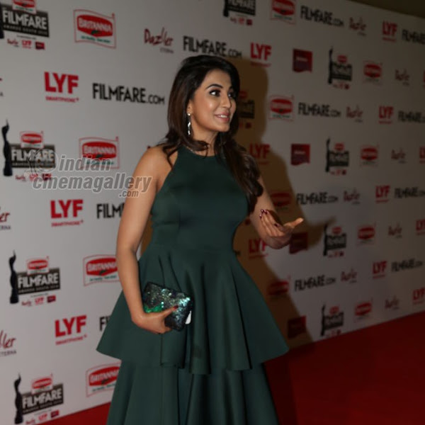 Parvathy Nair latest photos from 63rd South Filmfare Awards 2016