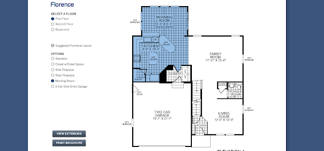 Fancy' In Up Our Florence: Floor Plan