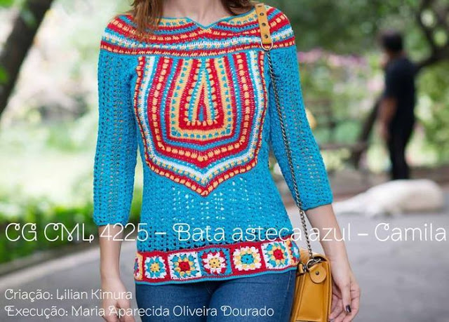 Blusa Hermosa y Colorida