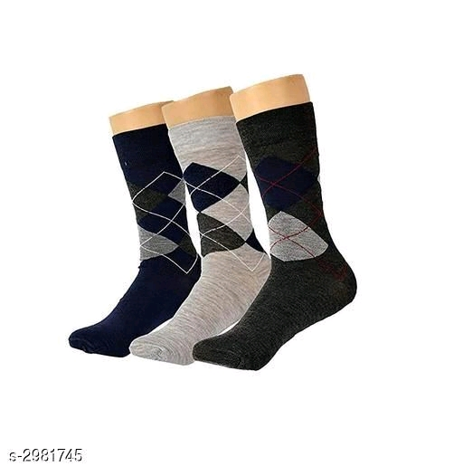 Elite Cotton Men's Sock (Pack Of 3)