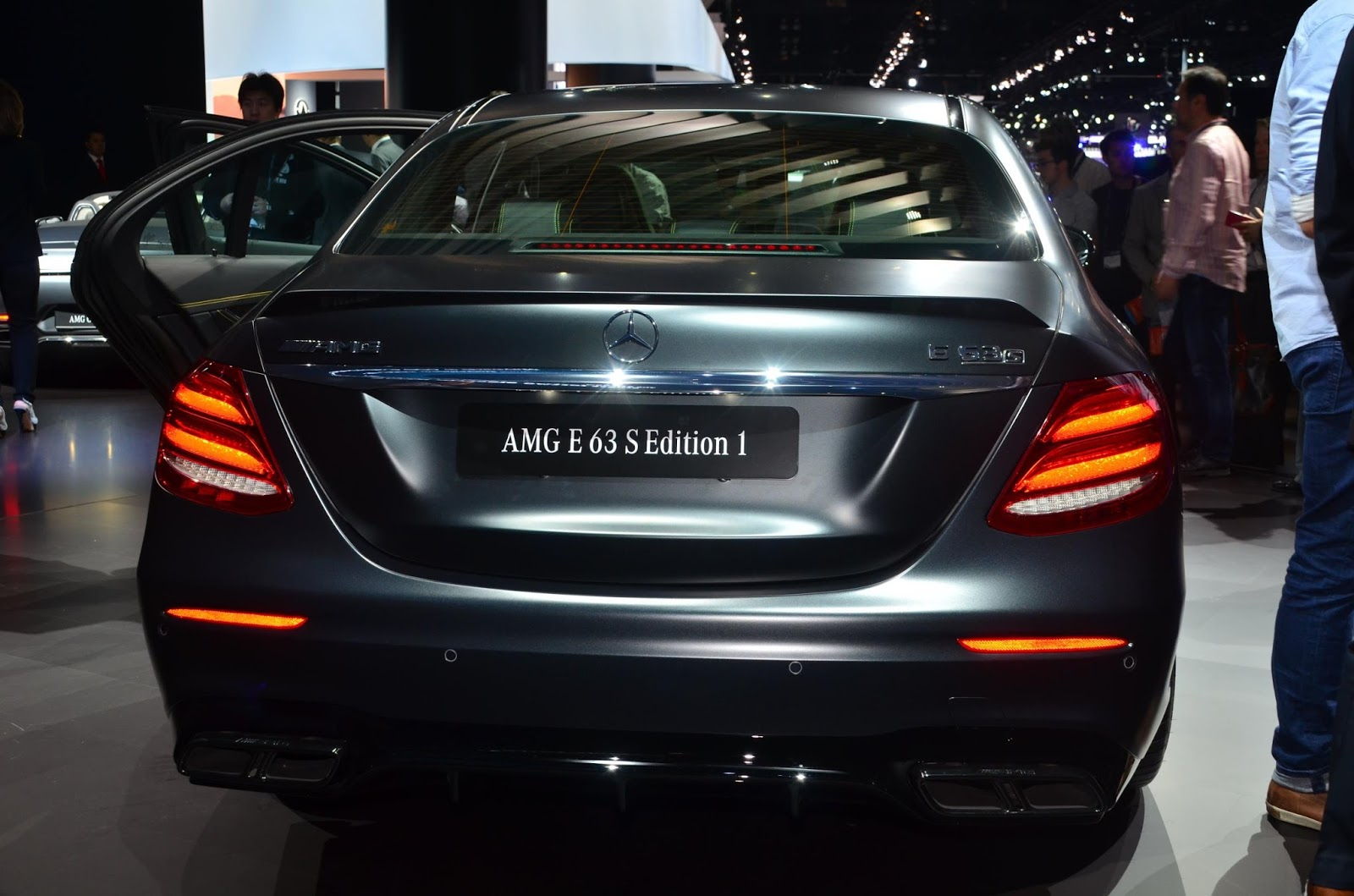 New Mercedes-AMG E63 S Edition 1 Has A Sinister Looking Paintjob