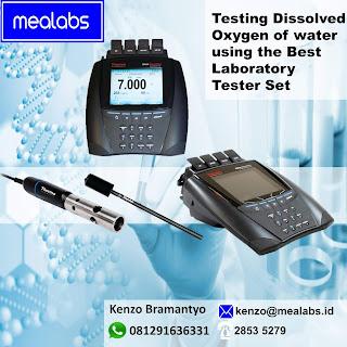 Dissolved Oxygen Meter untuk Laboratorium