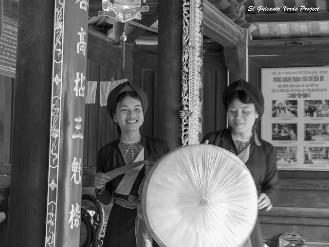 Cantos Quan Ho en el templo Đô - Vietnam por El Guisante Verde Project